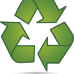 Recycle symbol, recyling, compost