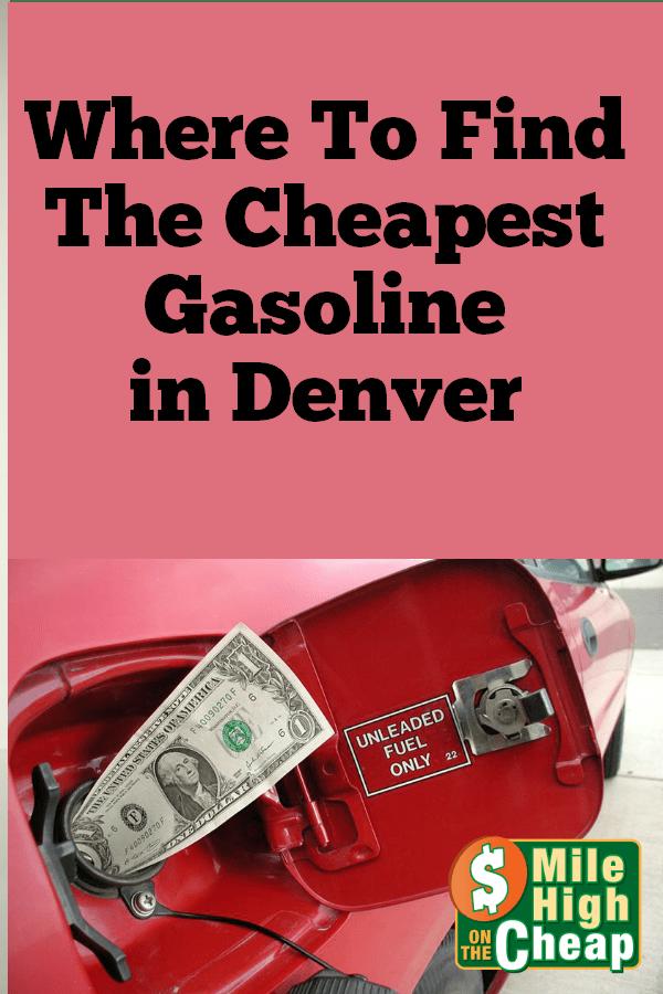 Cheap Gas Mile High On The Cheap