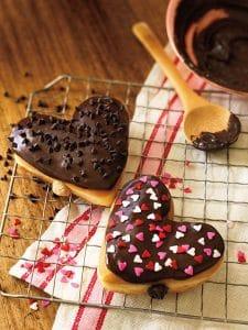 DD Heart Shaped Donuts
