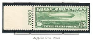Rocky Mountain Stamp Zeppelin