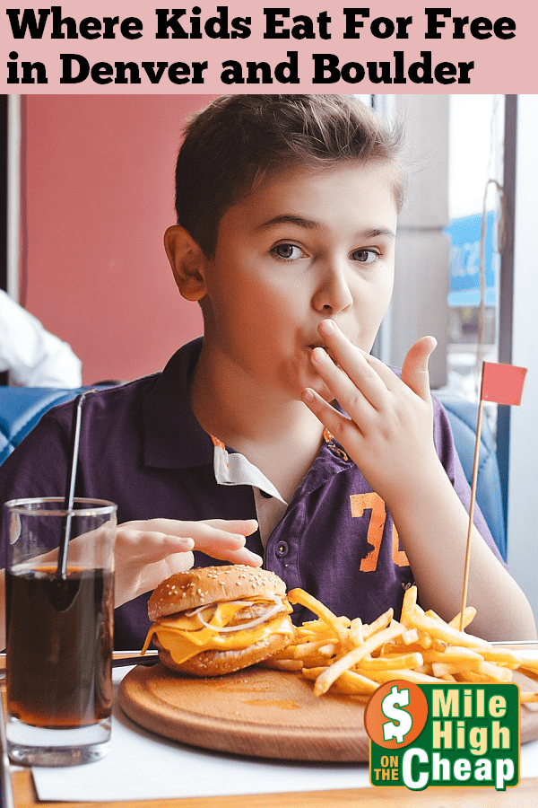 woodys denver kids 10 under eat free with purchase of adult entre - Kids Images Free