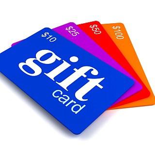 Check out more than 80 gift card bonuses