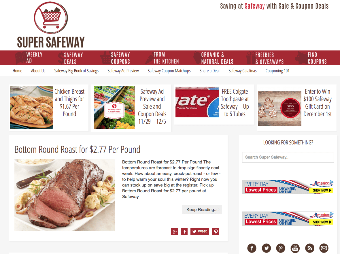 12 Days of Gifts - Day 8: Win $50 Safeway Gift Card - Mile High on ...