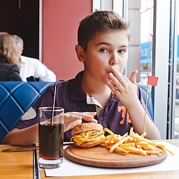 Here's a list of restaurants where kids eat FREE