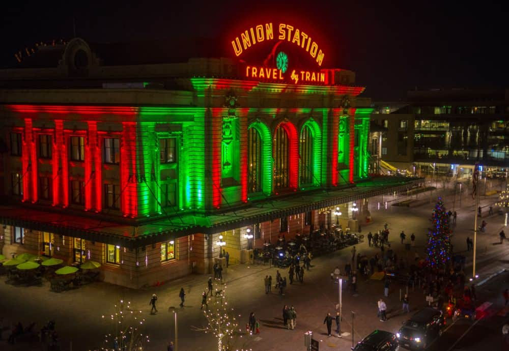 More than three million lights put sparkle in the city including at Skyline  Park, the Tabor Center, D&F Tower, Larimer Square, Denver Pavilions and all  ... - Grand Illumination Lights Up Downtown Denver - Mile High On The Cheap