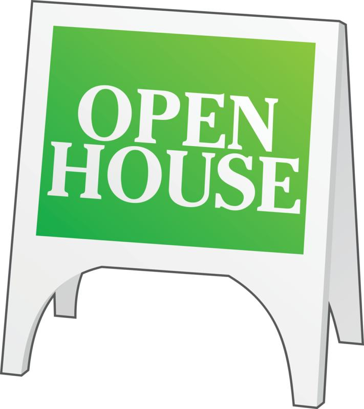 free clip art open house - photo #17